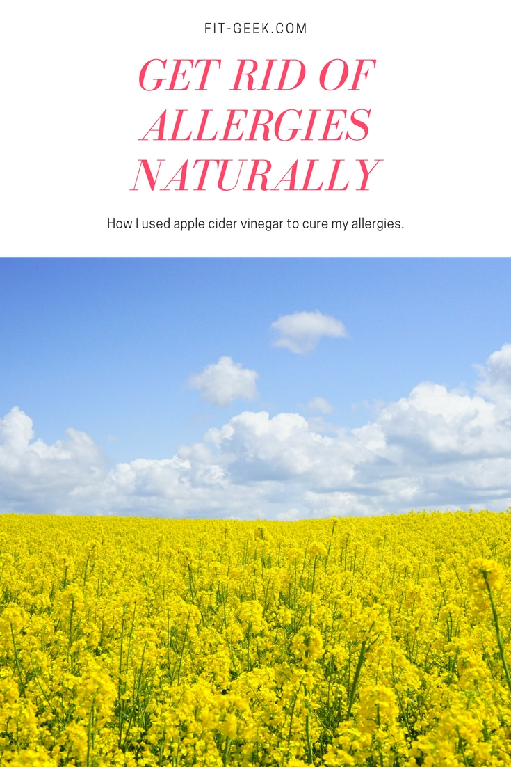 GET RID OF ALLERGIES NATURALLY