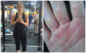 Lifting weights is fun and calluses are fun to pick.