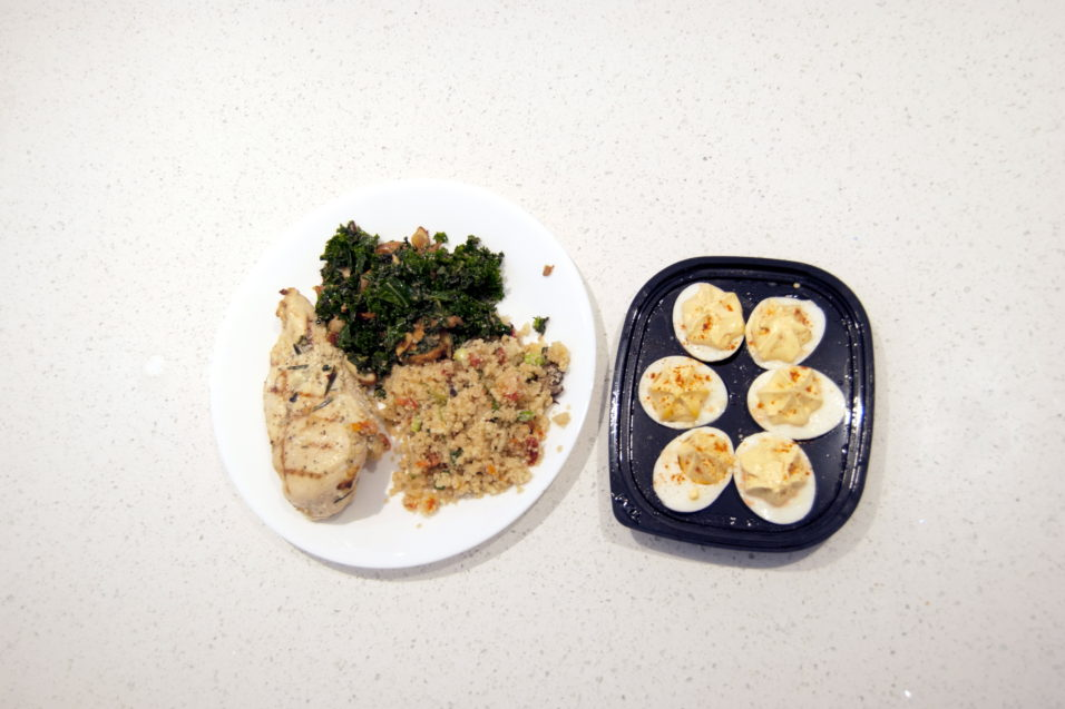 healthyish dinner