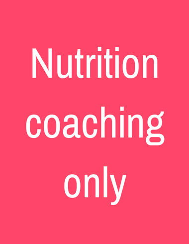 Nutrition coaching box