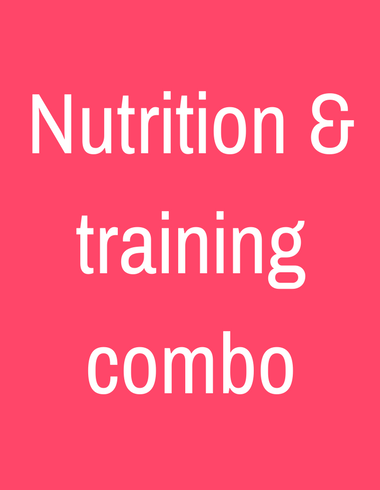 Nutrition & training coaching box